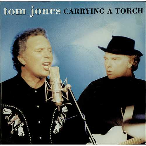 "Van Morrison Carrying A Torch + Tom Jones 7"" vinyl single (7 inch record) UK VMO07CA129911"