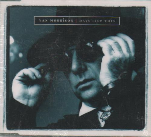 Van Morrison Days Like This Uk Cd Single Cd5 5 Quot 129147