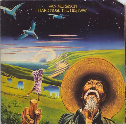 Van Morrison Hard Nose The Highway - EX vinyl LP album (LP record) US VMOLPHA772477