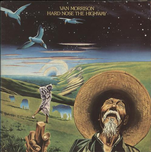 Van Morrison Hard Nose The Highway vinyl LP album (LP record) Canadian VMOLPHA702723