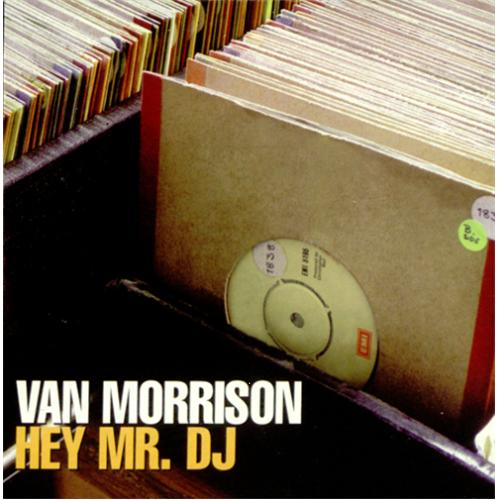 "Van Morrison Hey Mr DJ CD single (CD5 / 5"") Spanish VMOC5HE261612"