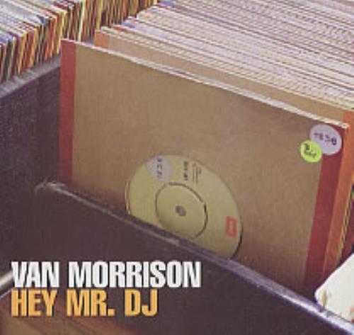 "Van Morrison Hey Mr. DJ CD single (CD5 / 5"") US VMOC5HE212883"