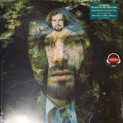 Van Morrison His Band And The Street Choir - Turquoise Vinyl - Sealed vinyl LP album (LP record) UK VMOLPHI765378