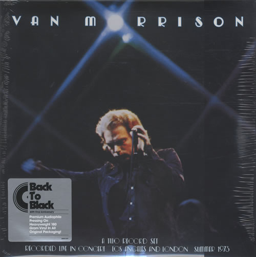 Van Morrison It's Too Late To Stop Now 2-LP vinyl record set (Double Album) UK VMO2LIT464379