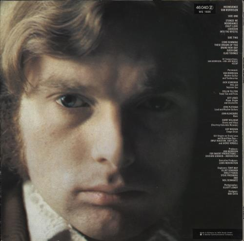 Van Morrison Moondance vinyl LP album (LP record) German VMOLPMO707792