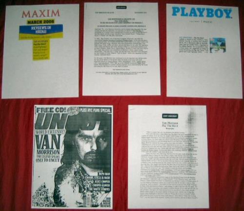 Van Morrison Pay The Devil media press pack US VMOPPPA379050