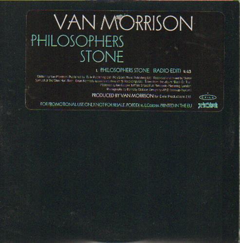 "Van Morrison Philosophers Stone CD single (CD5 / 5"") UK VMOC5PH142482"