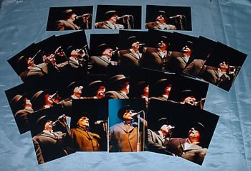 Van Morrison Set Of 25 Live Photographs photograph UK VMOPHSE312652