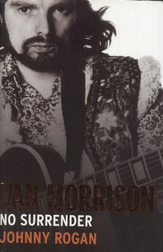 Van Morrison Van Morrison: No Surrender book UK VMOBKVA743097