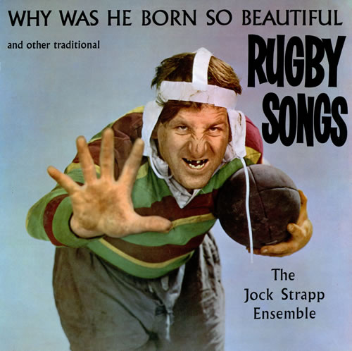 Various-Comedy Why Was He Born So Beautiful And Other Great Rugby Songs vinyl LP album (LP record) UK V/CLPWH462178