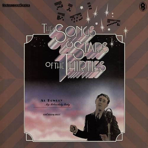 Various-20s & 30s The Songs And Stars Of The Thirties UK vinyl LP