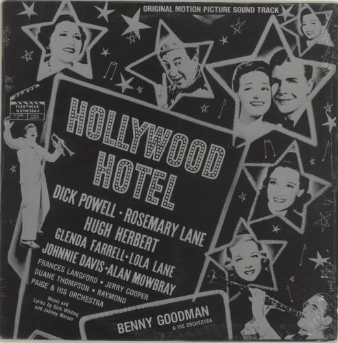 Various-40s/Big Band & Swing Hollywood Hotel US vinyl LP