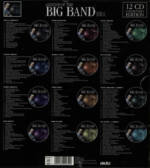 Various 40s Big Band Amp Swing Legends Of The Big Band Era