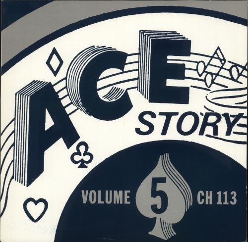 Various-50s/Rock & Roll/Rockabilly Ace Story - Volume Five vinyl LP album (LP record) UK 50VLPAC720286