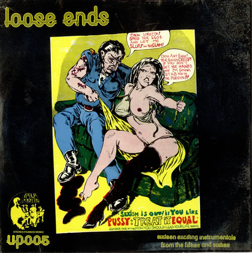 Various-50s/Rock & Roll/Rockabilly Rave From The Grave, Blast From The Past Vol. 2 - Loose Ends vinyl LP album (LP record) UK 50VLPRA488341