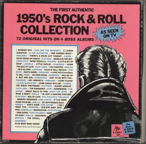 Various-50s/Rock & Roll/Rockabilly The First Authentic 1950's Rock & Roll Collection Vinyl Box Set US 50VVXTH725921