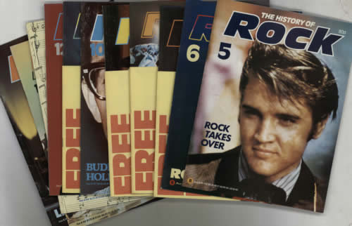 Various-50s/Rock & Roll/Rockabilly The History Of Rock - 12 Issues magazine UK 50VMATH614857