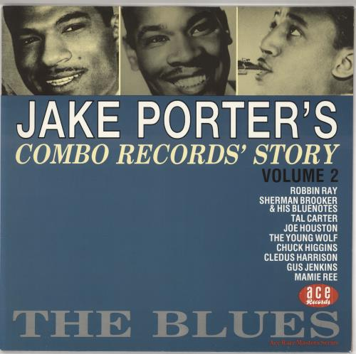 Various-50s/Rock & Roll/Rockabilly The Jake Porter Story Volumes 1 & 2 2-LP vinyl record set (Double Album) UK 50V2LTH720283