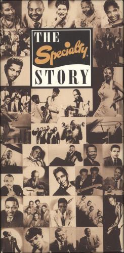 Various-50s/Rock & Roll/Rockabilly The Specialty Story CD Album Box Set US 50VDXTH713408