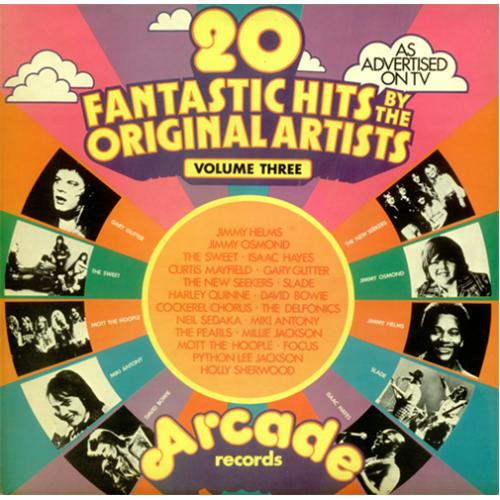 Various 60s Amp 70s 20 Fantastic Hits By The Original