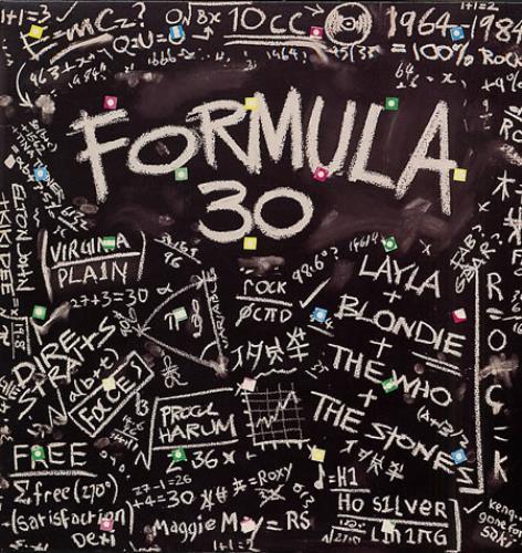 Various-60s & 70s Formula 30 2-LP vinyl record set (Double Album) UK SVA2LFO331381