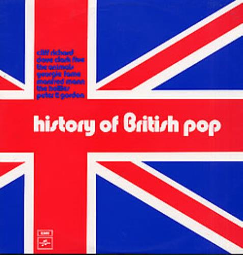 Various-60s & 70s History Of British Pop 2-LP vinyl record set (Double Album) Australian SVA2LHI276275