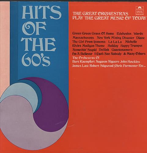 Various-60s & 70s Hits Of The 60's UK 3-LP vinyl record set