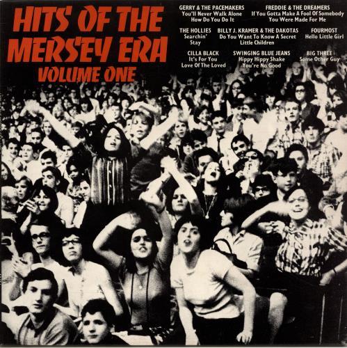 Various-60s & 70s Hits Of The Mersey Era UK vinyl LP album (LP record)