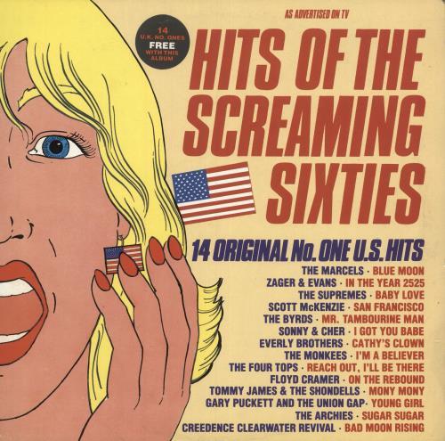 Various-60s & 70s Hits Of The Screaming Sixties vinyl LP album (LP record) UK SVALPHI426145