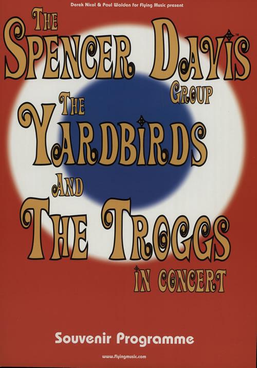 Various-60s & 70s In Concert - Autographed tour programme UK SVATRIN575280