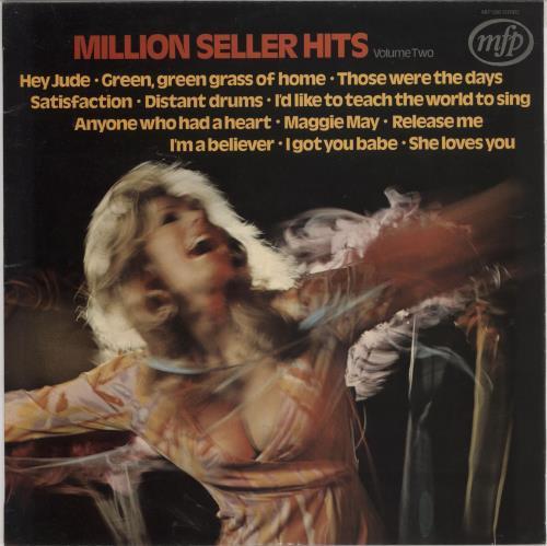 Various-60s & 70s Million Seller Hits Volume Two vinyl LP album (LP record) UK SVALPMI745608