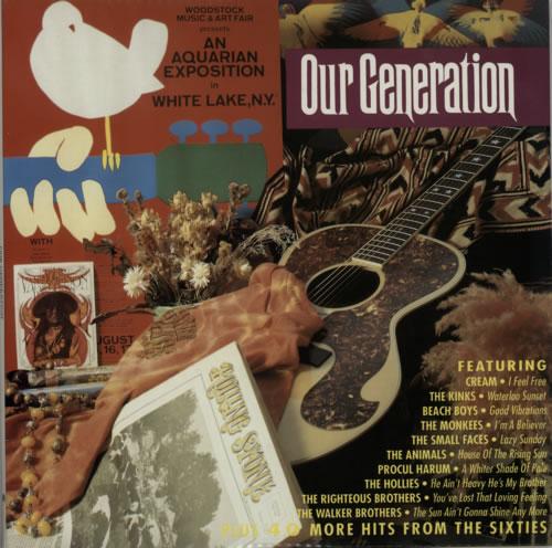 Various-60s & 70s Our Generation 4-LP vinyl album set (4 records) UK SVA4LOU592676