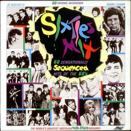 Various-60s & 70s Sixties Mix 2-LP vinyl record set (Double Album) UK SVA2LSI519852