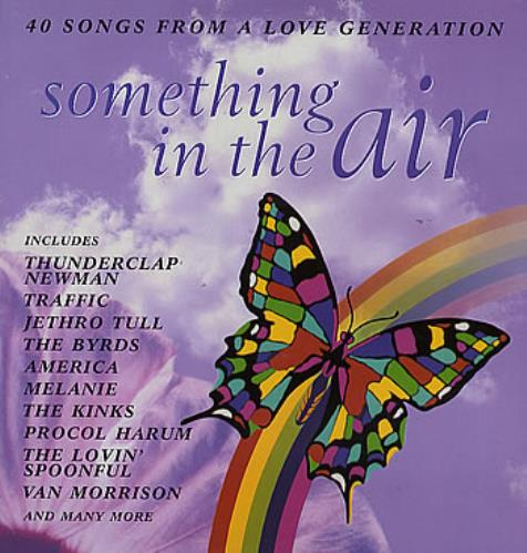 Various-60s & 70s Something In The Air 2-LP vinyl record set (Double Album) UK SVA2LSO295499