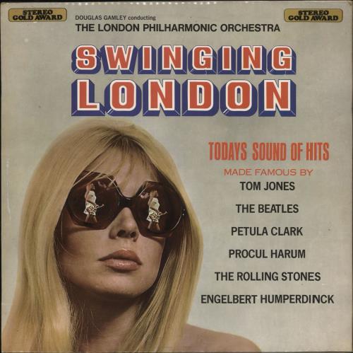 Various-60s & 70s Swinging London vinyl LP album (LP record) UK SVALPSW721055