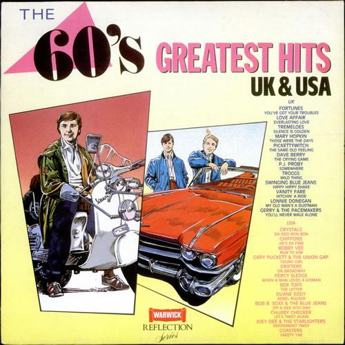 Various 60s Amp 70s The 60 S Greatest Hits Uk Vinyl Lp Album