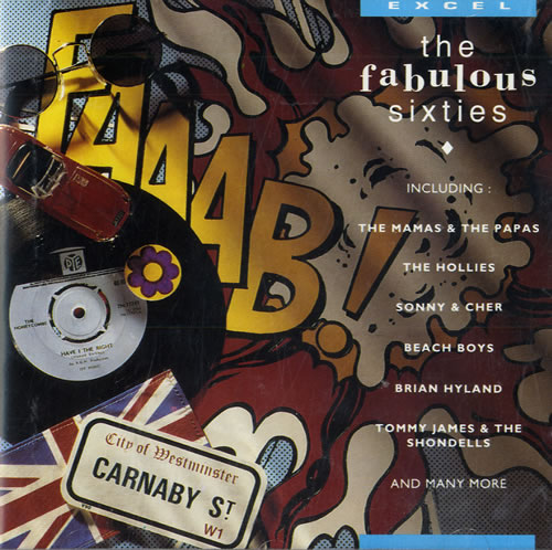 Various-60s & 70s The Fabulous Sixties CD album (CDLP) UK SVACDTH561587