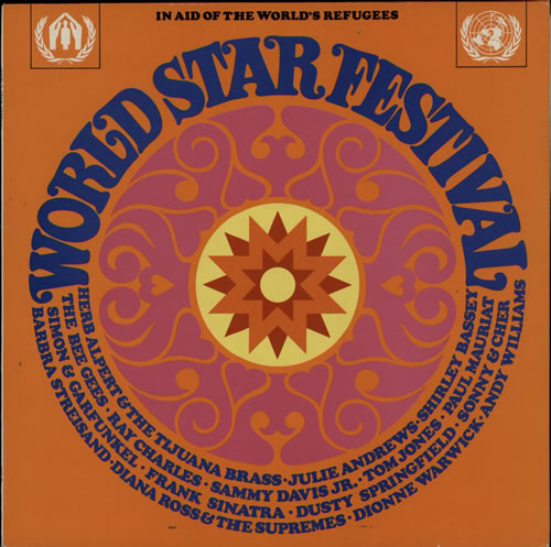 Various 60s Amp 70s World Star Festival Uk Vinyl Lp Album