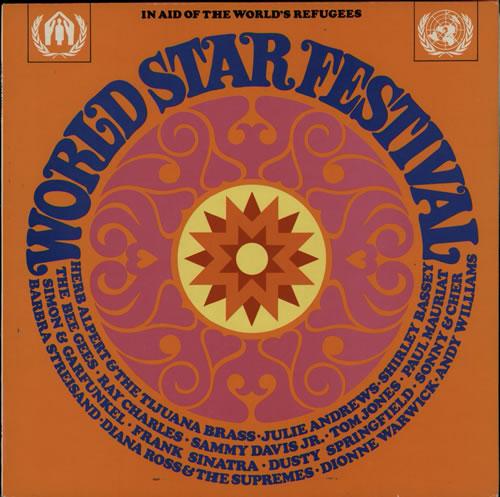 Various 60s Amp 70s World Star Festival Uk Vinyl Lp Album