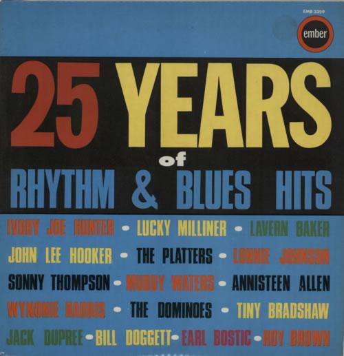 Various-Blues & Gospel 25 Years Of Rhythm & Blues vinyl LP album (LP record) UK V-BLPYE613379