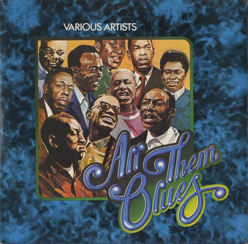 Various-Blues & Gospel All Them Blues 2-LP vinyl record set (Double Album) UK V-B2LAL473847