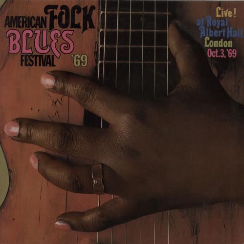 Various-Blues & Gospel American Folk Blues Festival '69 + Poster vinyl LP album (LP record) German V-BLPAM755769