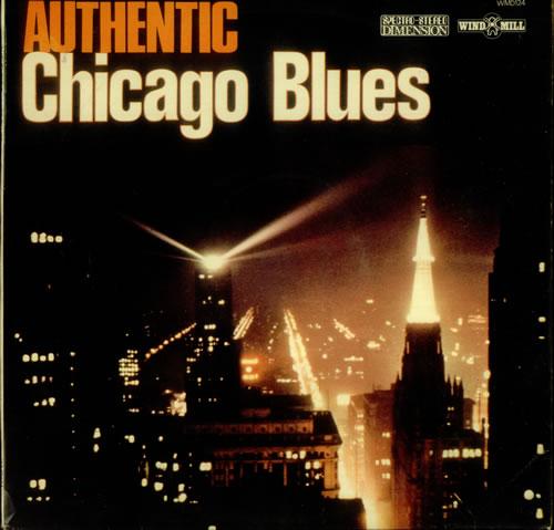 Various-Blues & Gospel Authentic Chicago Blues vinyl LP album (LP record) UK V-BLPAU546190