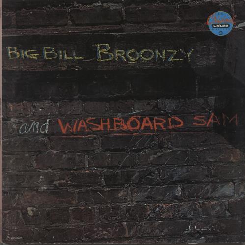 Various-Blues & Gospel Big Bill Broonzy And Washboard Sam vinyl LP album (LP record) Italian V-BLPBI664996
