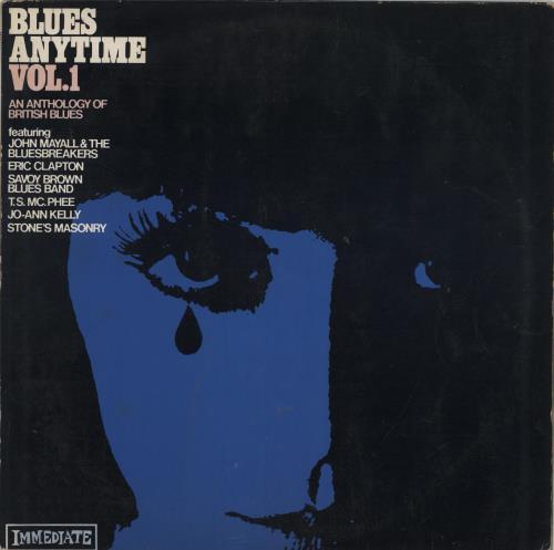 Various-Blues & Gospel Blues Anytime Volume 1 vinyl LP album (LP record) UK V-BLPBL548595