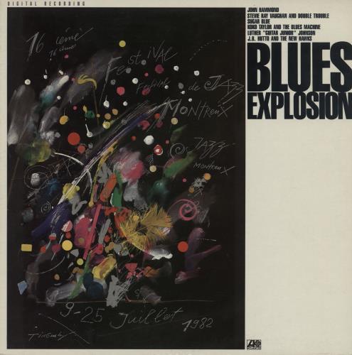 Various-Blues & Gospel Blues Explosion vinyl LP album (LP record) Canadian V-BLPBL755759