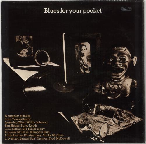 Various-Blues & Gospel Blues For Your Pocket vinyl LP album (LP record) UK V-BLPBL562865