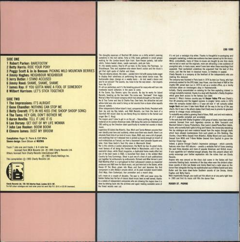 Various-Blues & Gospel Charly R & B Party vinyl LP album (LP record) UK V-BLPCH709976