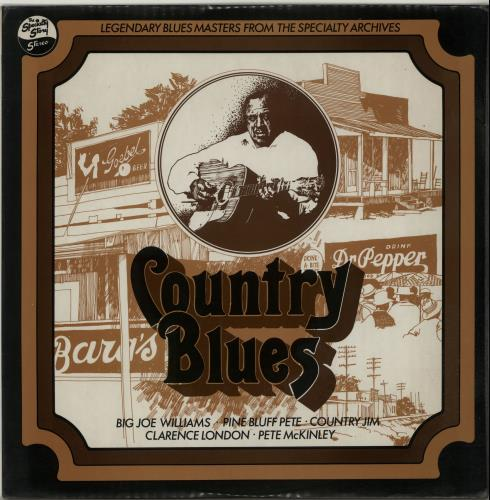 Various-Blues & Gospel Country Blues vinyl LP album (LP record) UK V-BLPCO655654