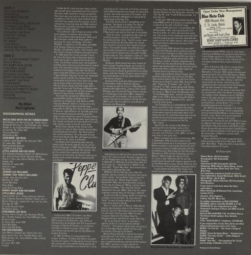 Various-Blues & Gospel Down On Broadway And Main vinyl LP album (LP record) UK V-BLPDO761206